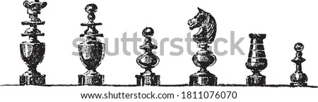 chess figures  from the