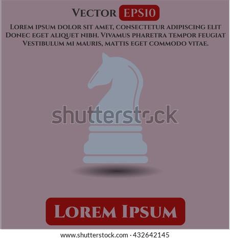 Chess knight symbol