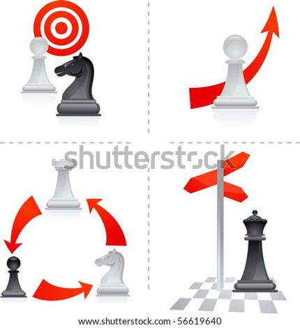 Chess metaphors - goals and choices