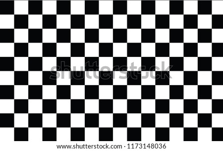 Chess pattern black and white texture square shape