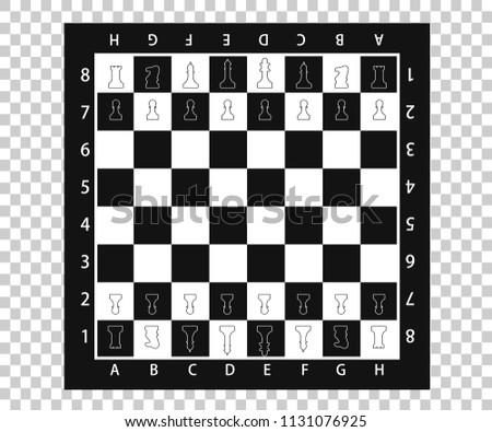 Vector Checkerboard Chess Set Download Free Vector Art Stock
