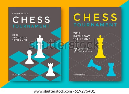 chess tournament poster
