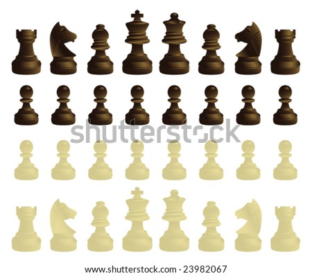 chessmen complete set