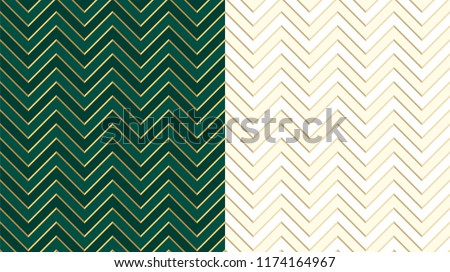 stock-vector-chevron-zig-zag-emerald-dark-green-seamless-pattern-with-golden-lines-cute-ivory-background-in