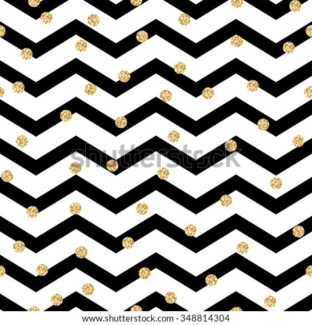 chevron zigzag black and white