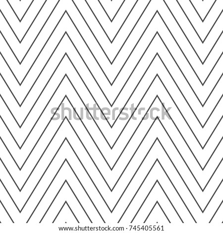 Chevrons Abstract Pattern Texture or Background - Shutterstock ID 745405561