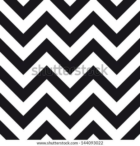 chevrons seamless pattern background retro vintage design - Shutterstock ID 144093022
