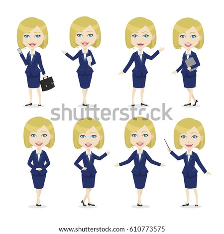 chibi blonde female character