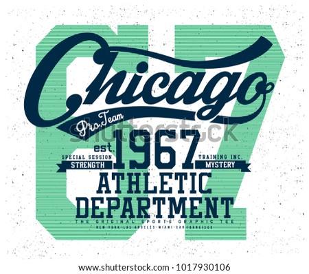 chicago sports graphic