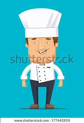 chief chef cook in kitchen