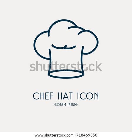 Chief Hat Icon Foto stock ©