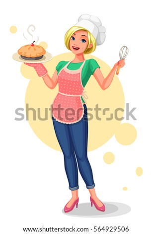 Stock Photo Chief house wife
