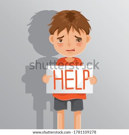child abuse boy sad boy the