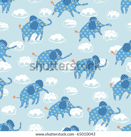 Child's seamless pattern