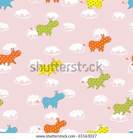 Child's seamless pattern