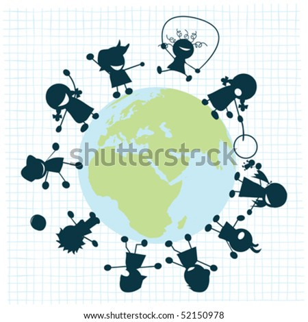 Black And White Globe Clip Art. the globe, clip art