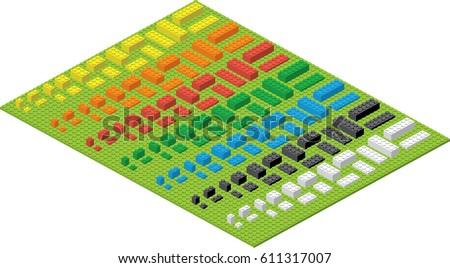 children brick toy simple