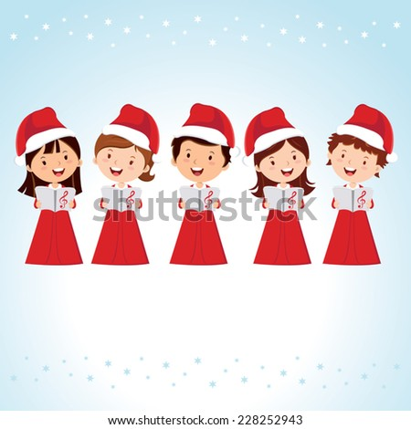 children christmas choir