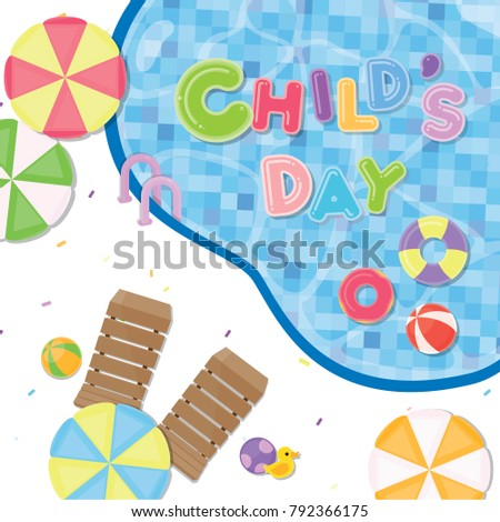 children day poster cute
