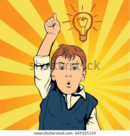 children idea with draft lamp....