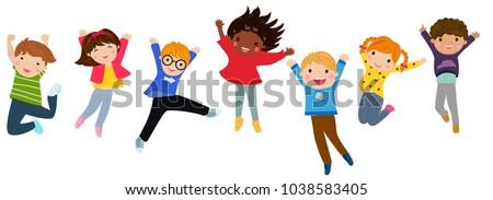 Craft Children Jumping Man