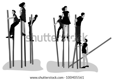how to build stilts to walk on