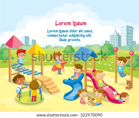 children playing in the