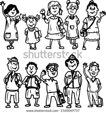 Children - primary school students