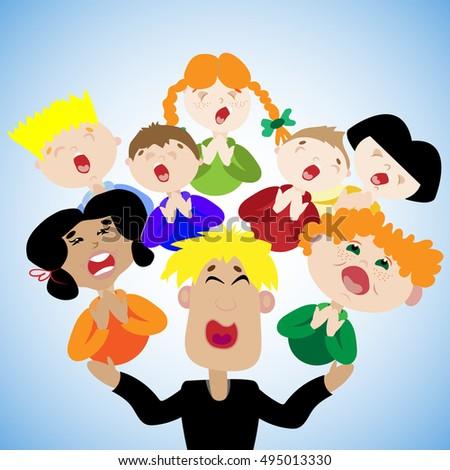 children's choir beautiful