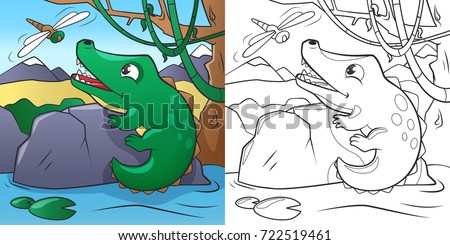 children's coloring book cute