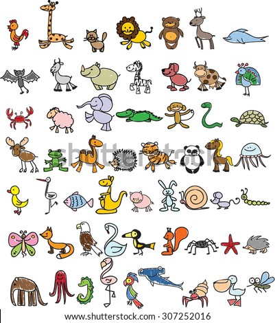 children's drawings of doodle