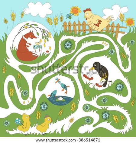 children's game  maze   help