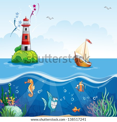 children's illustration with