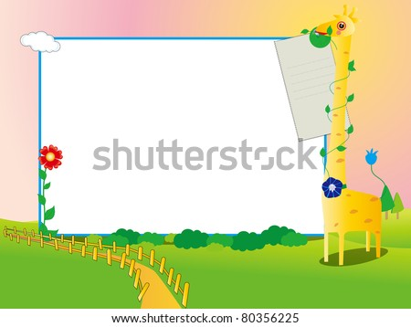 children's photo framework 17