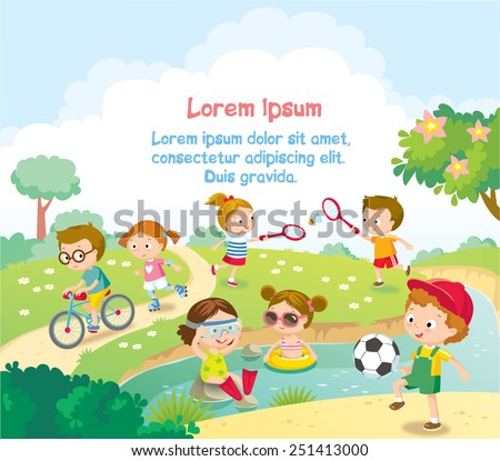 children's summer activities