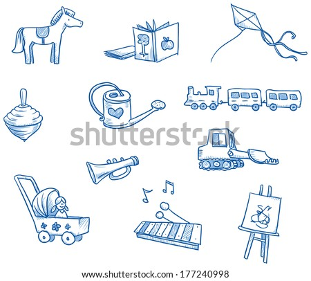 Fun Child Toy Vectors Download Free Vector Art Stock Graphics