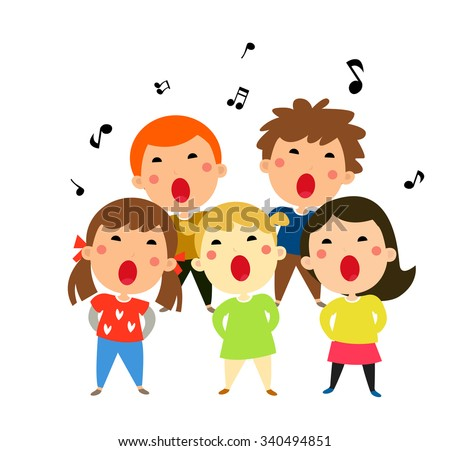 children singing christmas