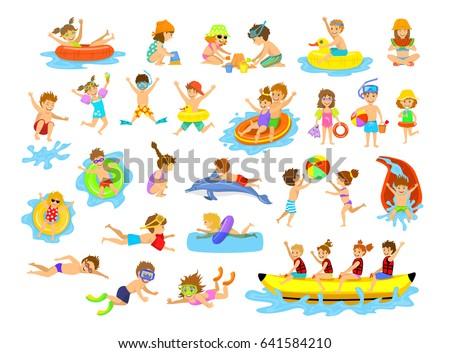 children summer holidays fun