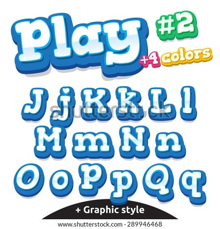 children video game letters