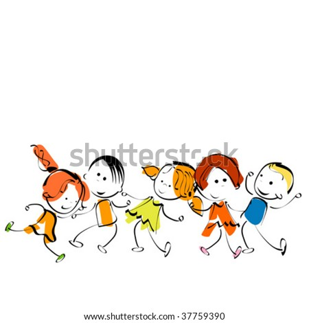 Pictures For Painting For Children. stock vector : children