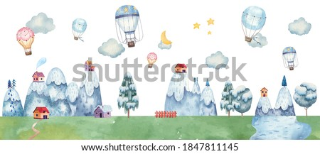 childrens illustration with