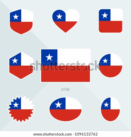 Chile flag.  #1096133762