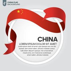 China flag background