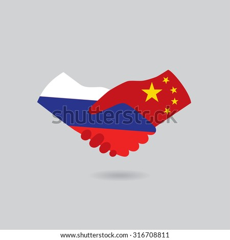 china handshake with russia