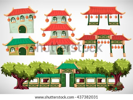 china house objects for the