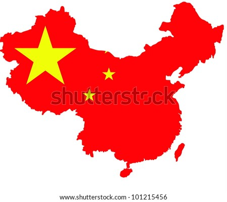 China map illustrator.