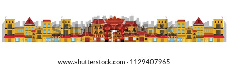 china town in asian design