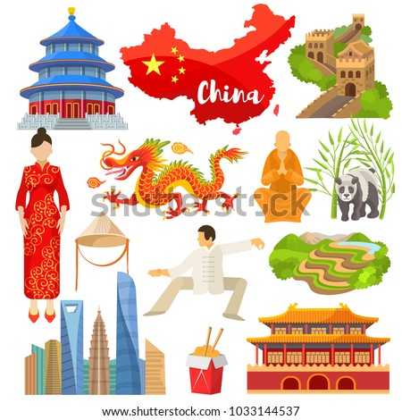 china vector chinese culture in