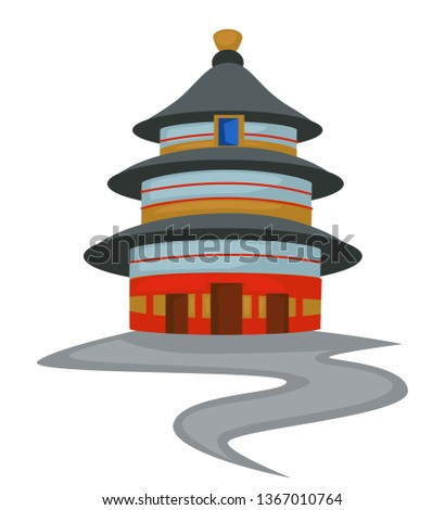 chinese architecture temple of