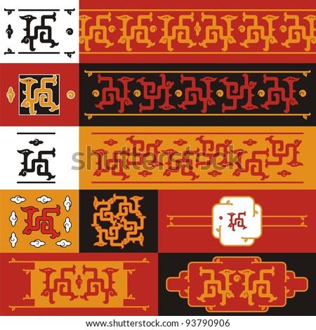chinese dragon  set   06 a